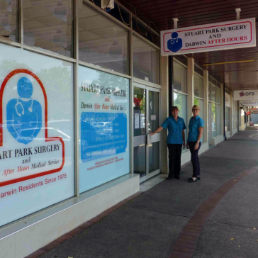 Stuart Park Surgery & Darwin After Hours Medical Service